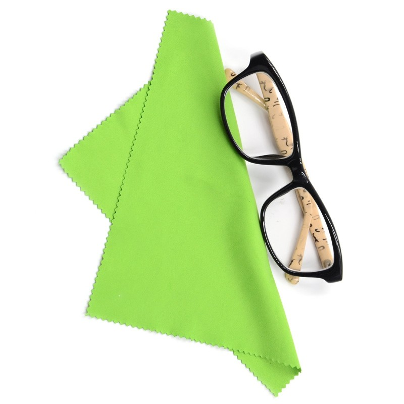 Microfiber eyeglass cloth  wholesale microfiber cloth
