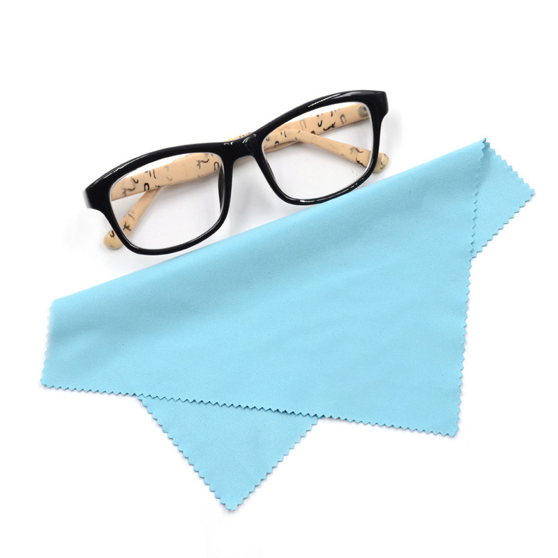 Logo customized  microfiber lens cleaning  cloth