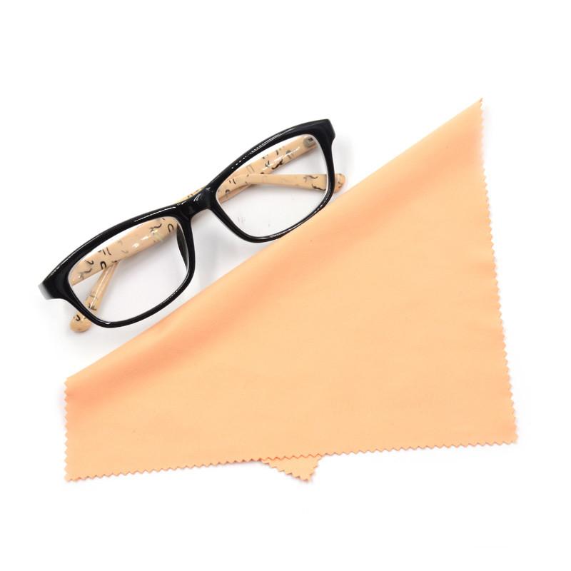Custom logo printed microfiber spectacles cloth