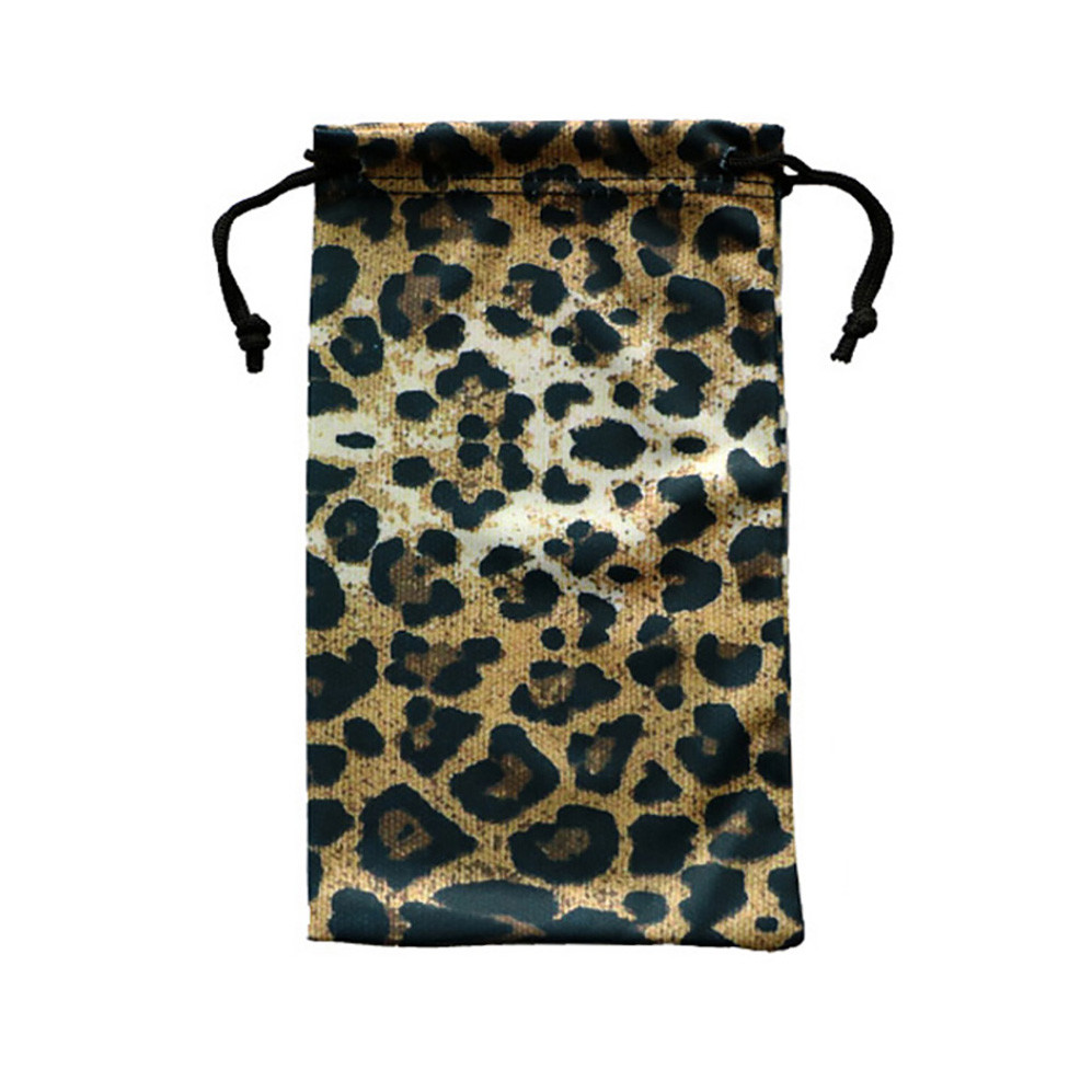 Customized Promotional Wholesale Microfiber Sunglasses Pouch