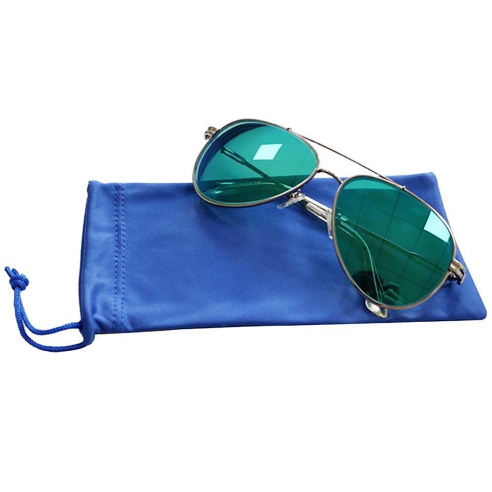 wholesale Soft Drawstring Custom Microfiber Sunglasses Bag