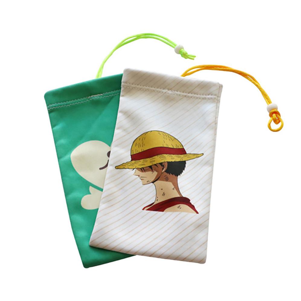 Customized Microfiber Drawstring Bag Microfiber Pouch