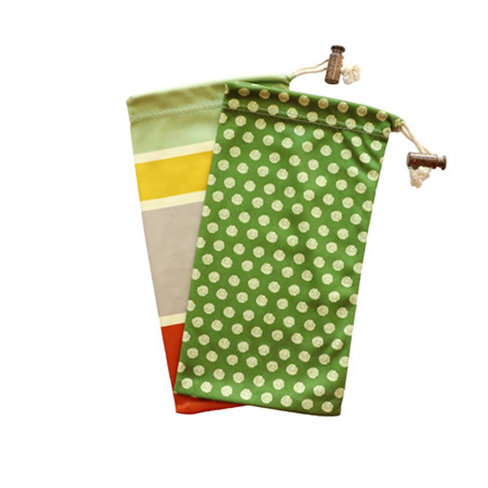 Custom Drawstring Sunglass Microfiber Pouch Wholesale