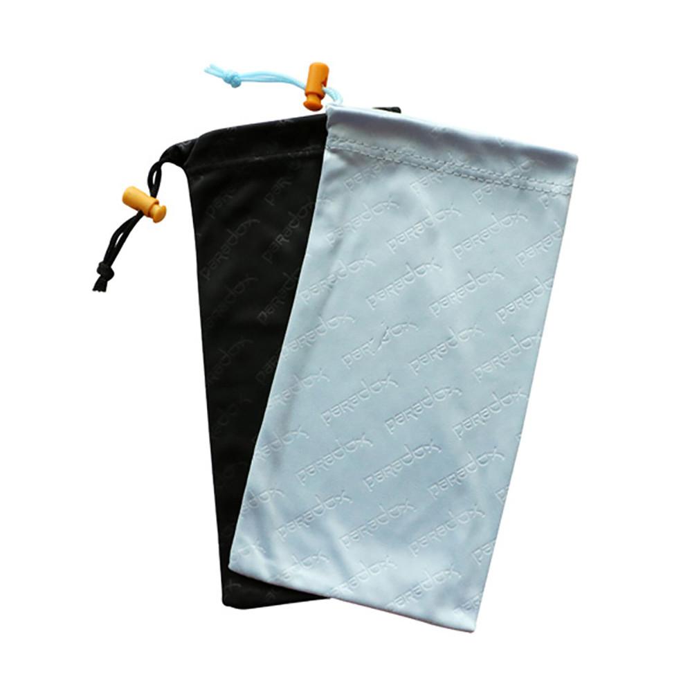 100% Polyester Microfiber Sunglasses Soft Pouch Glasses Drawstring Bag