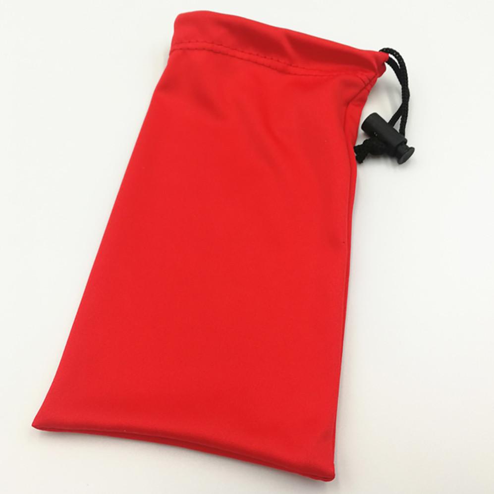 Soft  Drawstring  Microfiber Bags  Pouch Sunglasses