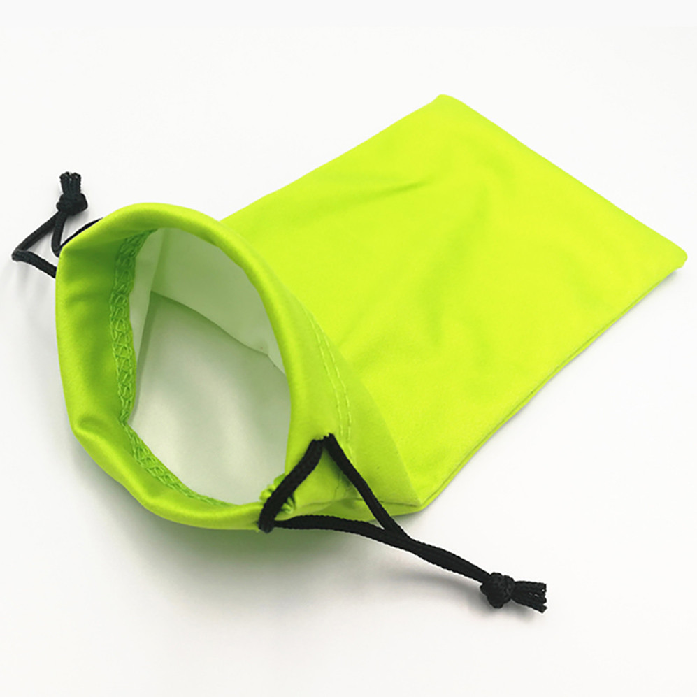 Colorful Microfiber Glasses Pouches with Drawstring