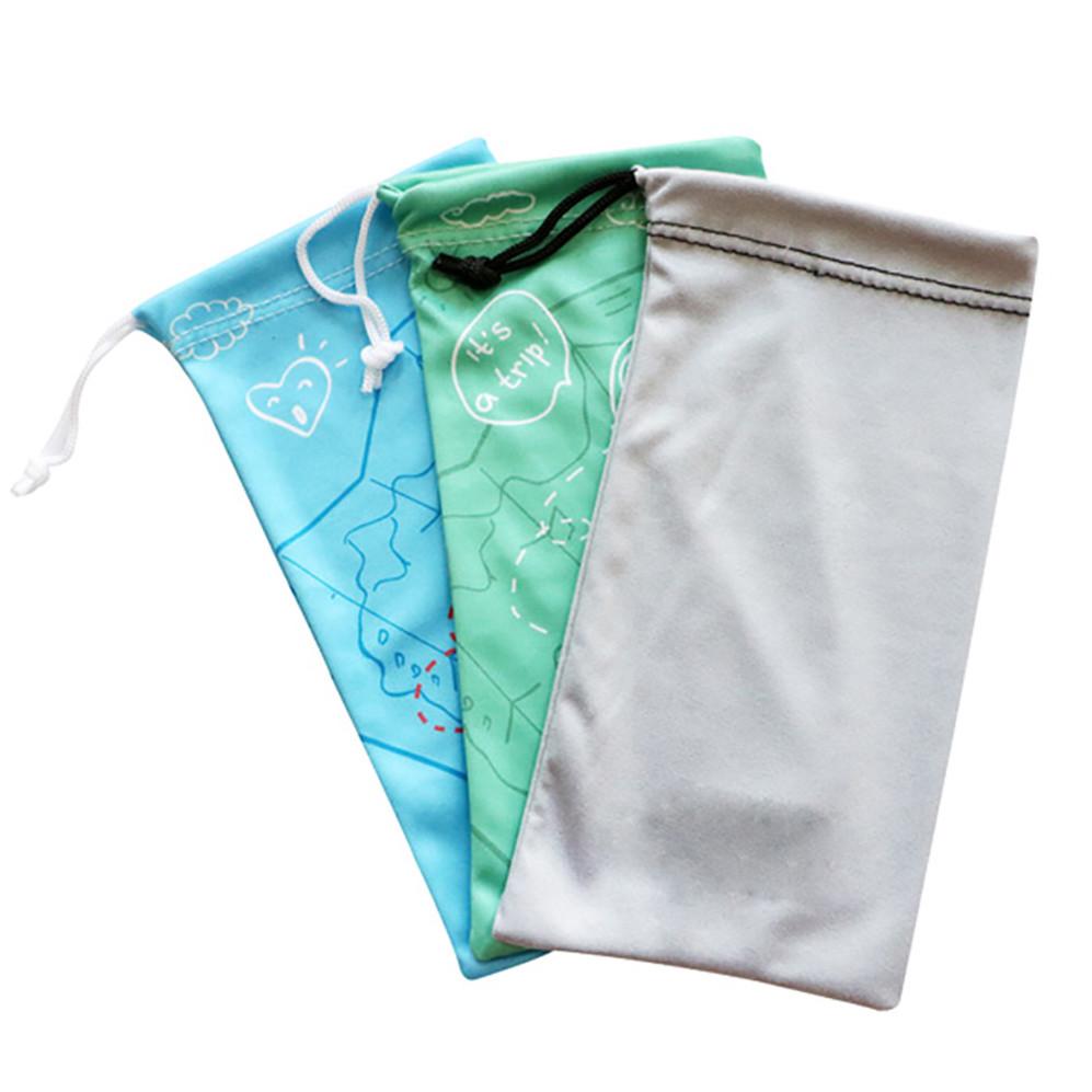 Wholesale Microfiber Fabric Sunglass Pouch For Glasses