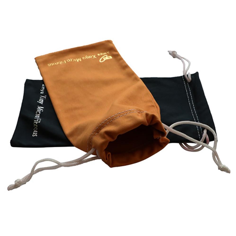 Custom Microfiber Pouch Drawstring Bag Sunglasses