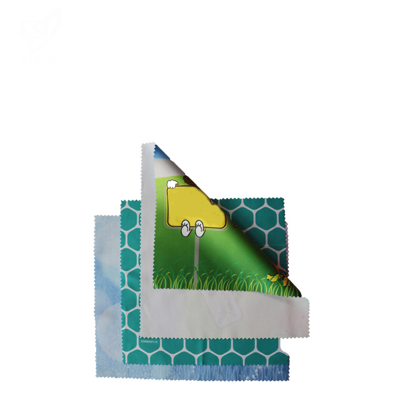 80%Polyester 20%Polyamide Microfiber Cloth for Lens Cleaning