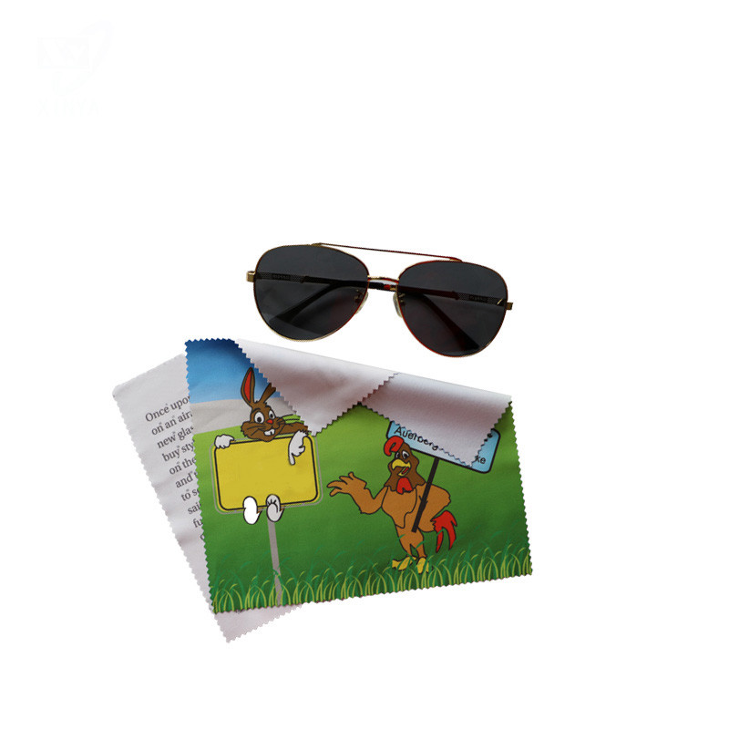 100%Polyamide Microfiber Sunglasses Cleaning Cloth