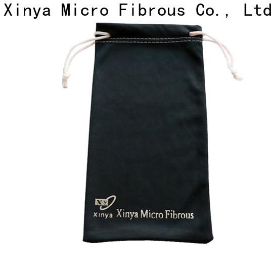 Xinya microfiber lens pouch factory