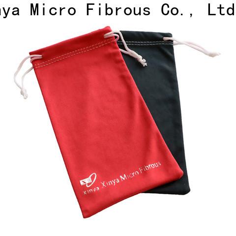 Xinya black microfiber tote bag factory washing