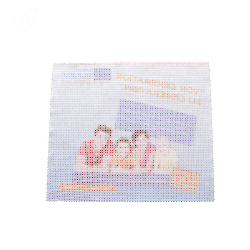 Personalized Microfiber Eyeglasses Cleaning Cloth Eyeglass Cleaner with Silicone