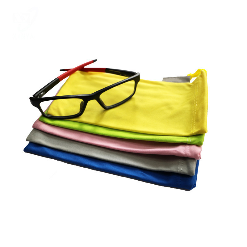 Microfiber Pouch for Eyeglasses/Sunglasses Solid Color