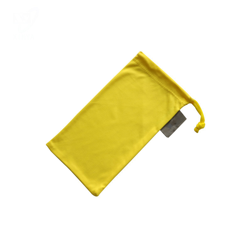 Solid Color Microfiber  Eyeglass Pouch