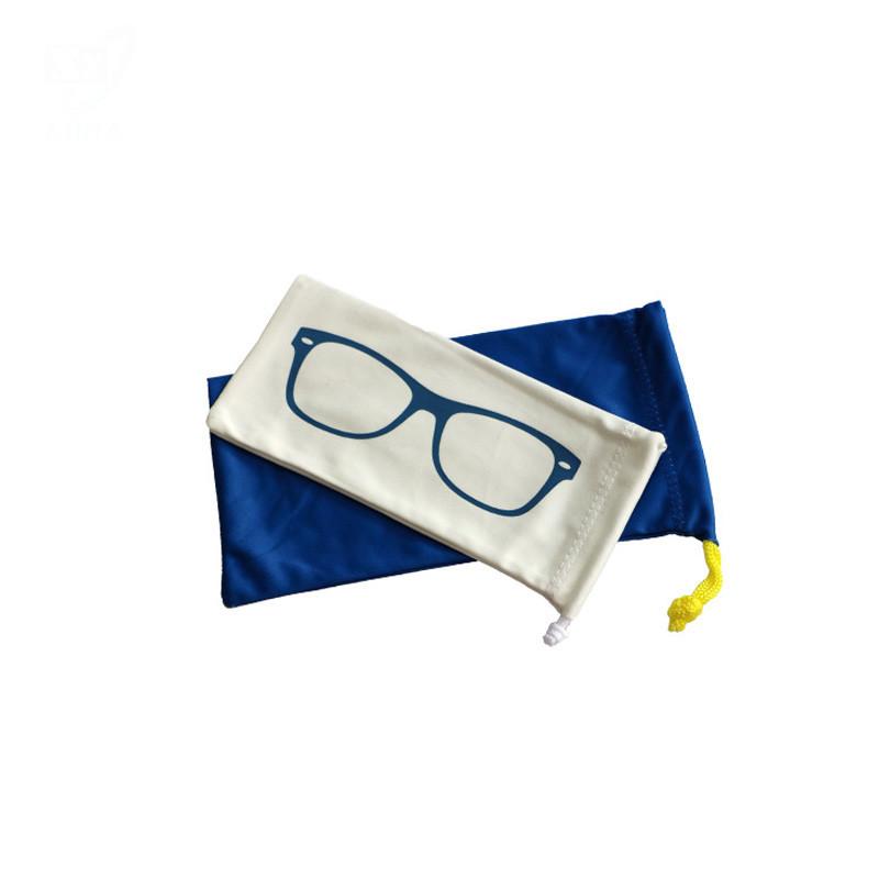 Multi-Functional Printed Eyeglasses Pouch Microfiber Glasses Bag