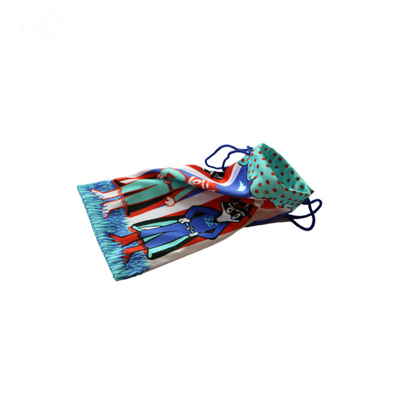 Wholesale Soft Pouch  Heat Transfer Printing Glasses Pouch
