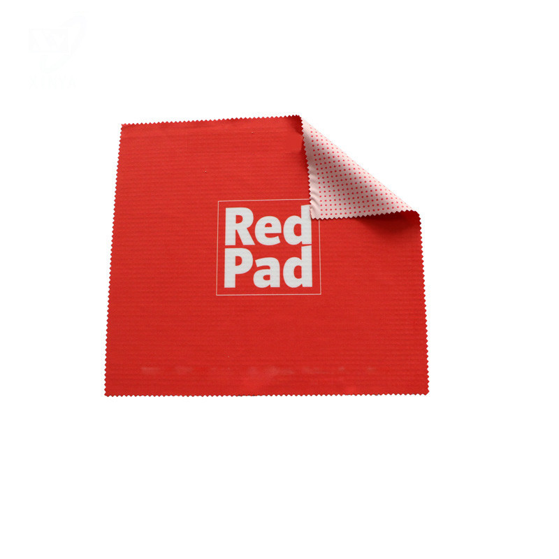 Silicone Gel Microfiber Mouse Pad Cloth With Digital Print