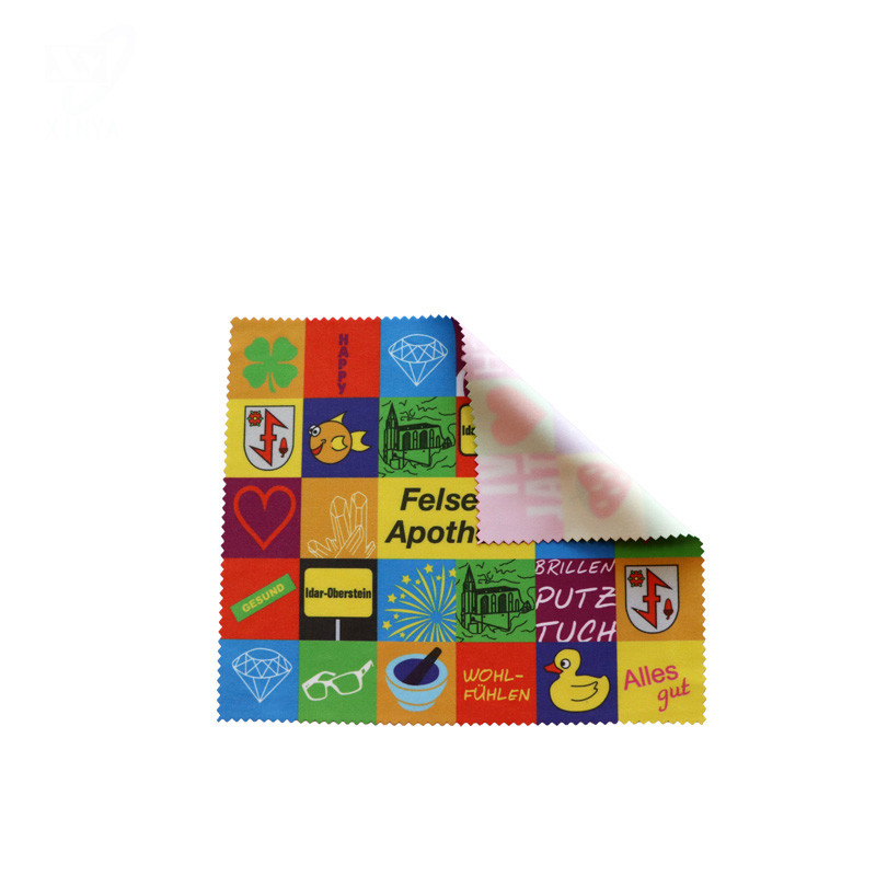 Colorful Custom Microfiber Lens Cleaning Cloth