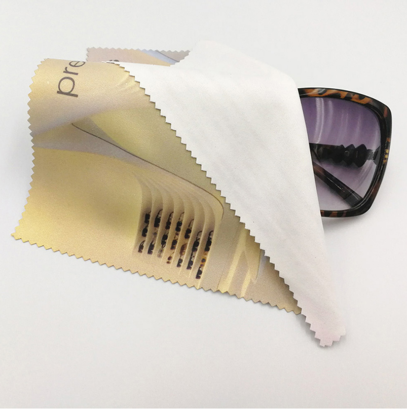 Microfiber glasses cloth