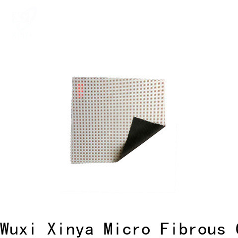 Xinya microfiber glass polishing cloth factory
