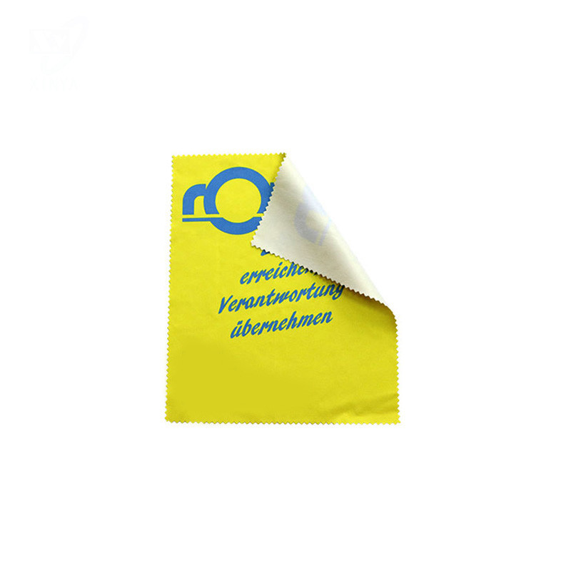Microfiber Cleaning Cloth With Heat Transfer Printed