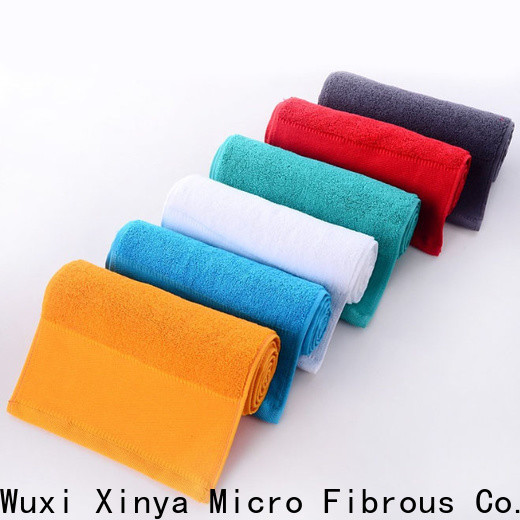 Xinya microfiber pink microfiber cloth factory home