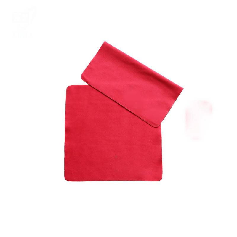 Microfiber Lens Cleaning Cloth  Washable and Reusable Customized Sizes