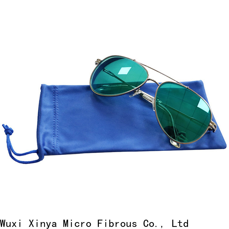 Xinya high quality microfiber sunglasses case factory cleaning