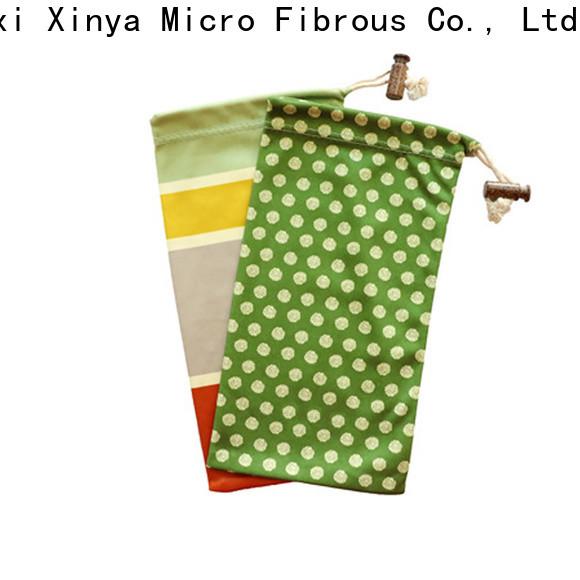 Xinya microfiber glasses bag home cleaning