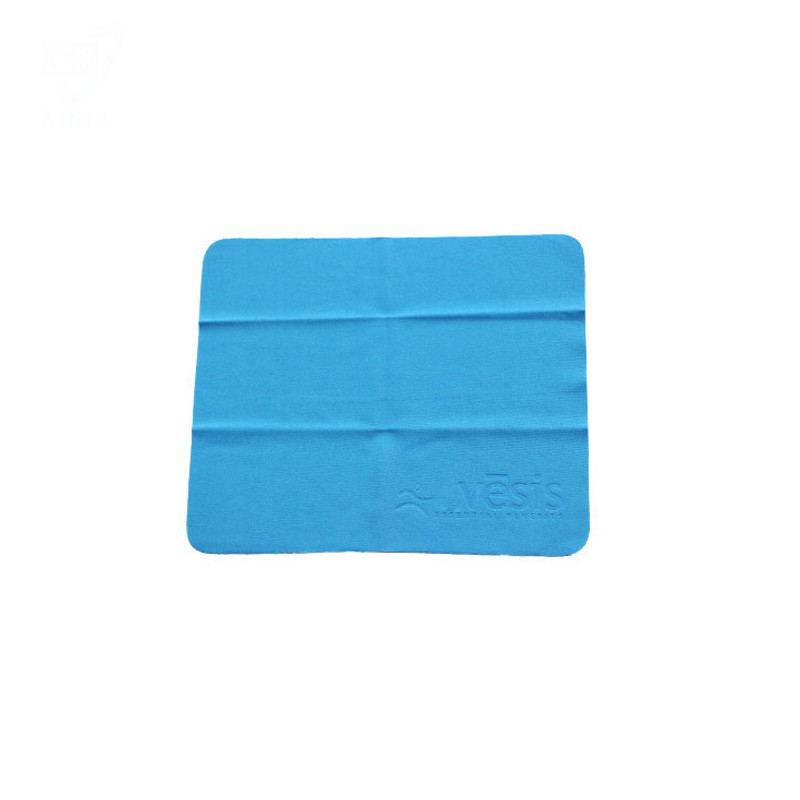 Microfiber Lens Cleaning Cloth Embossed  Thick Weight