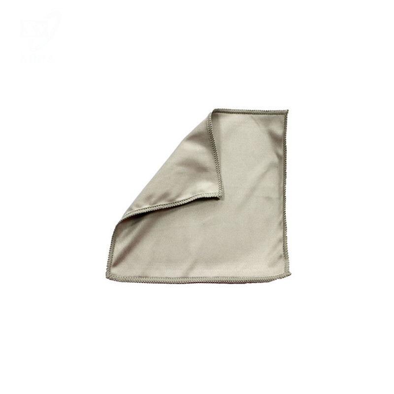 Sewn Edge Microfiber Suede Cleaning Cloth