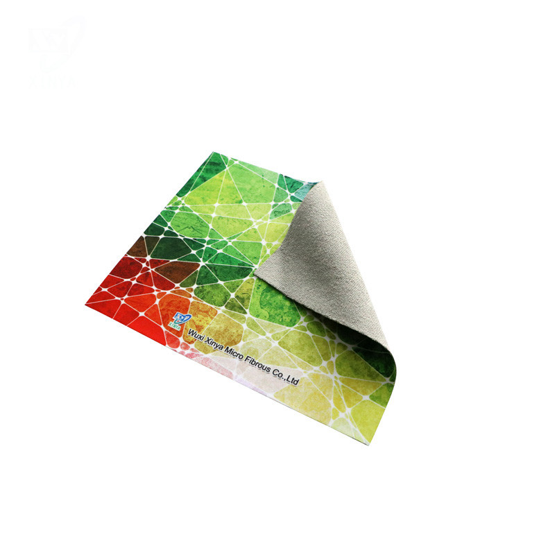 High Quality Microfiber Cleaning Cloth with Heat Transfer Printing