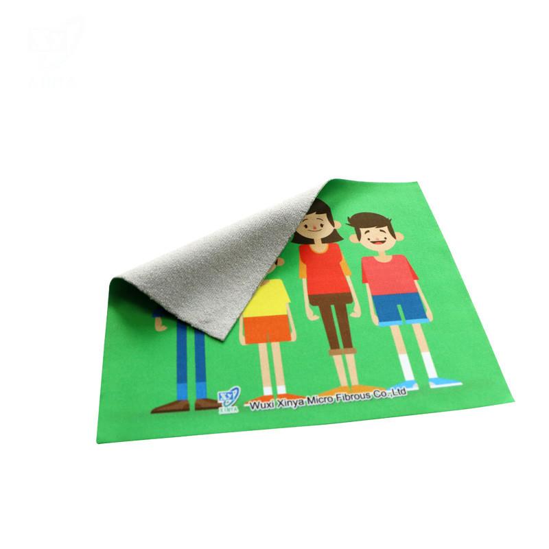 Microfiber Sripe Cloth for Custom Warp Microfiber Cleaning Cloth