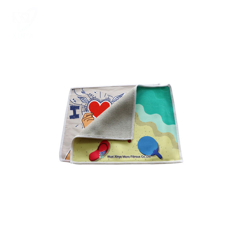 Multipurpose Microfiber Cleaning Cloth With Digital Printed