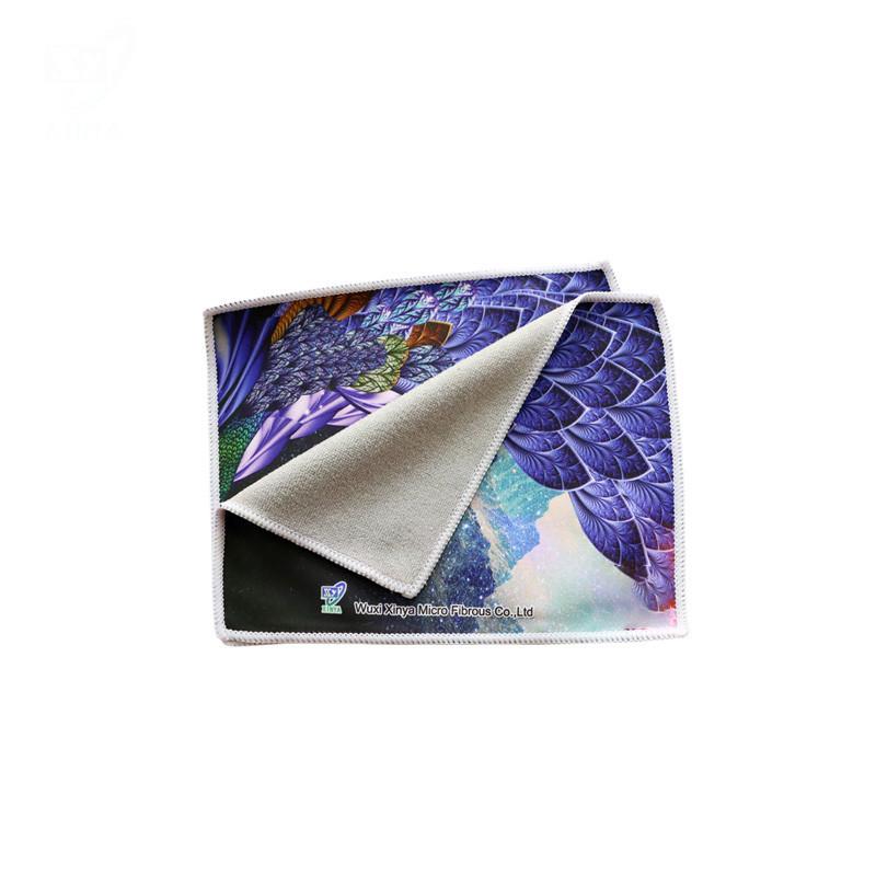 Microfiber Glasses Wipe Cloth Custom Print and Material