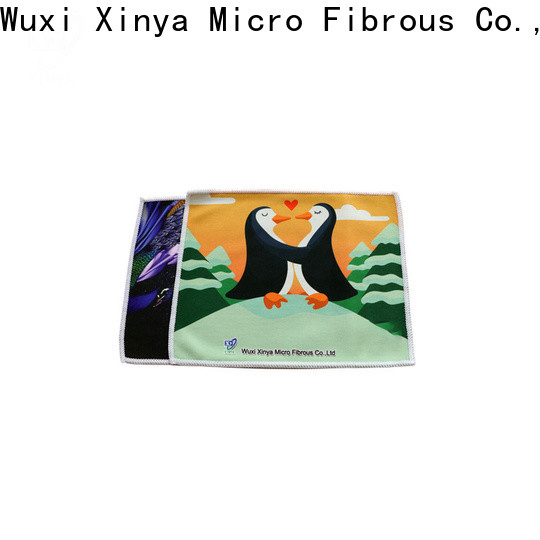 Xinya microfiber antibacterial cleaning cloth company washing
