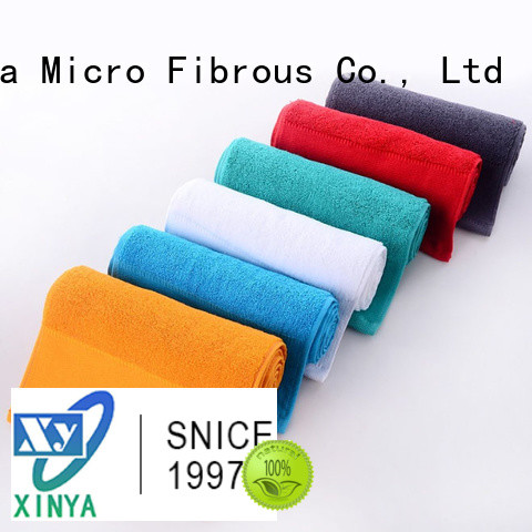Xinya 400gsm microfiber towels home household