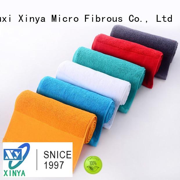 Xinya whole quality microfiber towels mini
