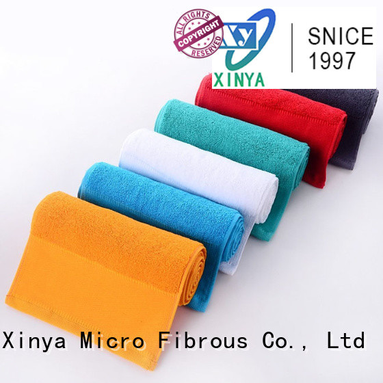Xinya micro outgo microfiber towel small cleaning