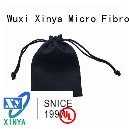 Xinya high quality black microfiber tote home washing