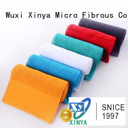 Xinya high quality microfiber towels home washing