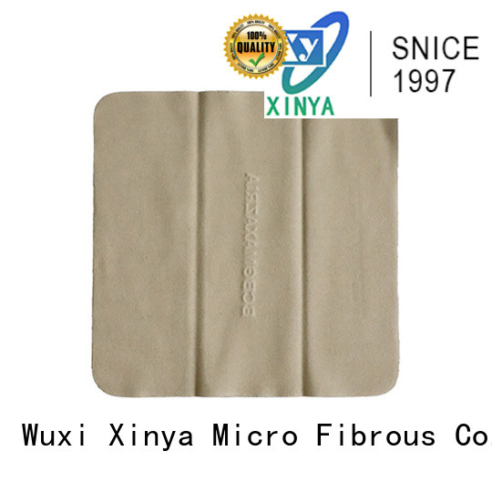 Xinya promotional glasses cleaning cloth mini washing
