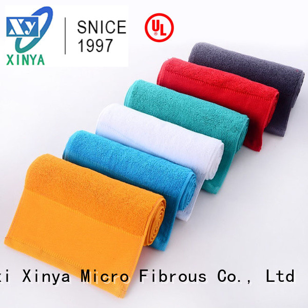 Xinya premium microfiber towel small household