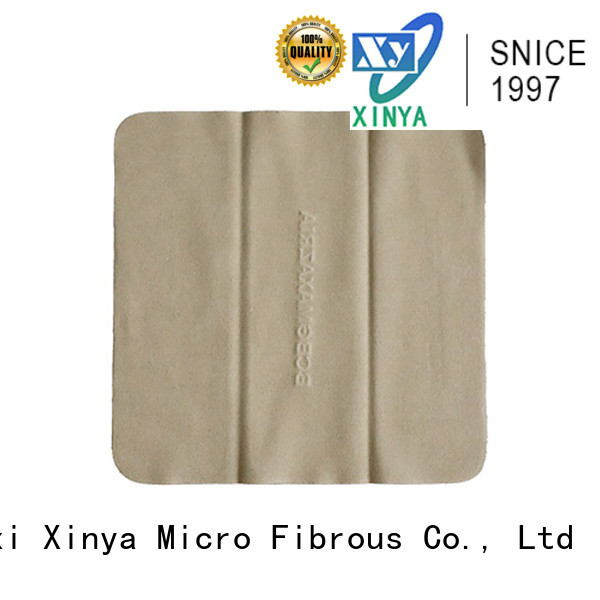 Xinya oem lens cleaning cloth microfiber small
