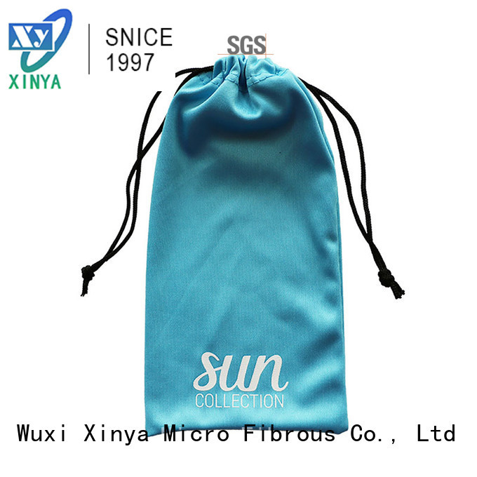 Xinya high quality custom sunglass pouch mini washing