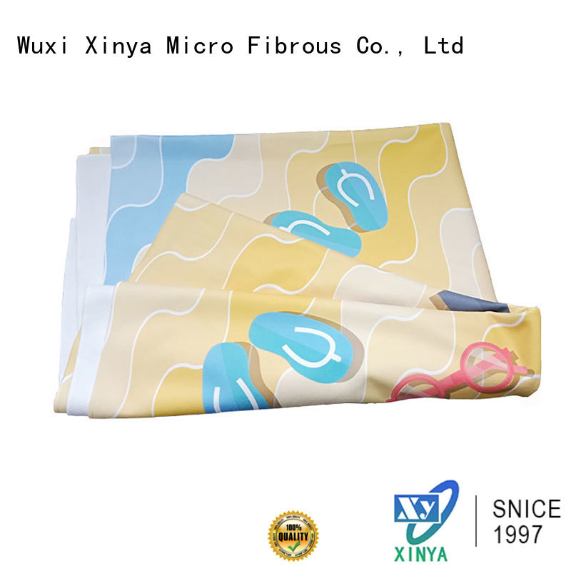 Xinya absorbent microfiber towel home cleaning