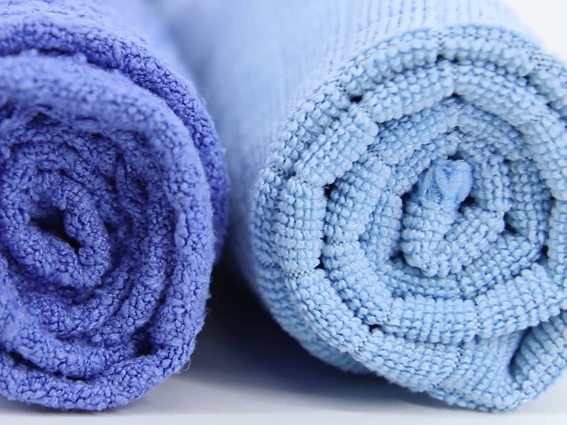 80% polyester 20% polyamide ease wash microfiber towel