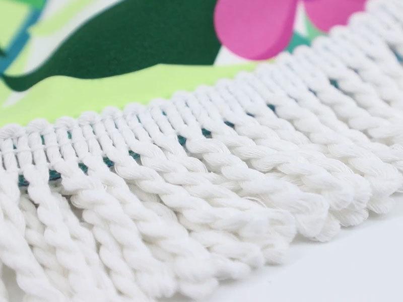 China supplier light weight super absorbent microfiber round beach towel