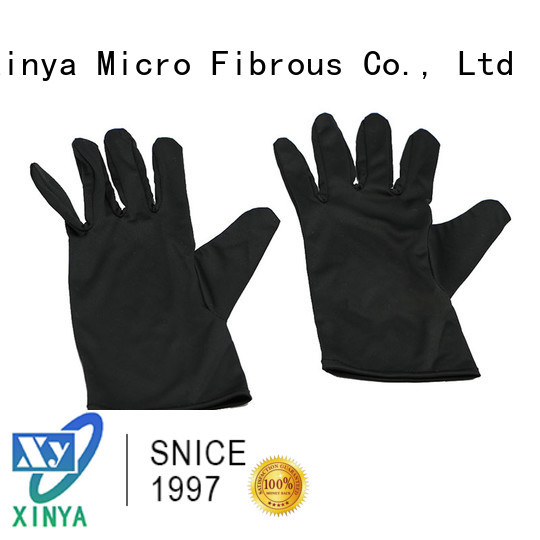 Xinya best microfiber car wash gloves mini home